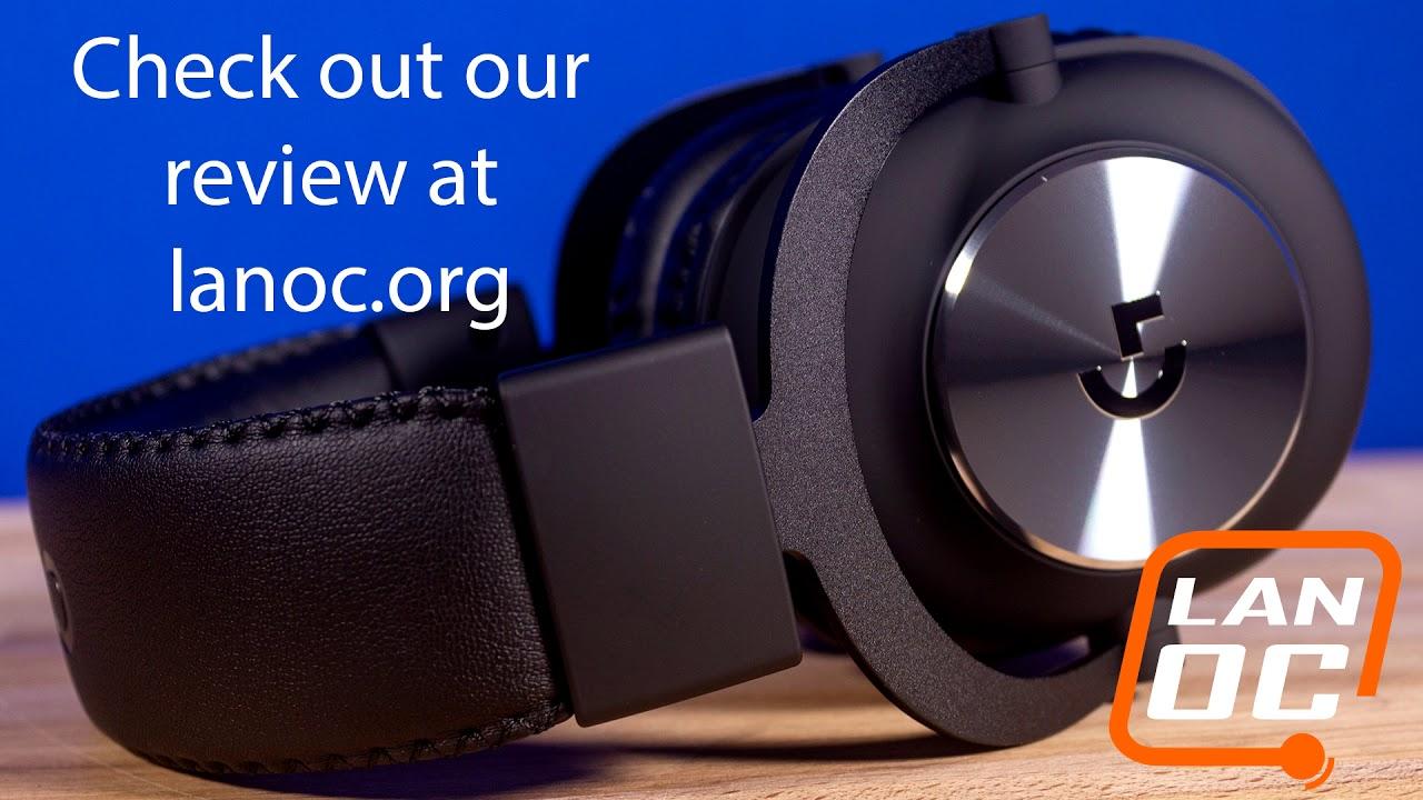 Logitech G Pro X Gaming Headset microphone comparison testing