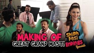 Great Grand Masti Movie Spoof Making    Shudh Desi Endings