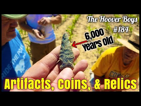 Treasure Hunting Adventure! Artifacts, Coins, & Relics Found Exploring 1740's Farm