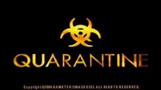 quarantine PC, DOS - Walkthrough - Final Level  Ending (No commentary, No fails)