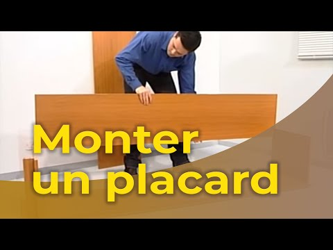 bricolage maison monter un placard youtube. Black Bedroom Furniture Sets. Home Design Ideas