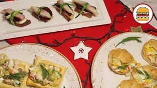 Сельдь под шубой, оливье, крабовый. 3 салата на праздничный стол. Новогоднее меню 2020