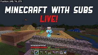 Playing Minecraft Windows 10 Edition With Subscribers | Like & Subscribe to join! | !xbox !discord