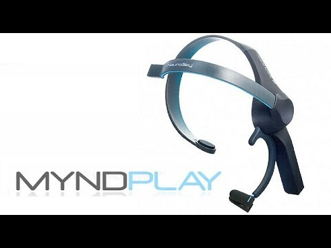 Mindwave! Control a Video Game with your MIND! EEG controller!!