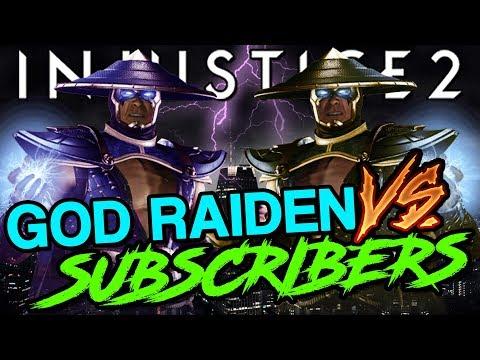 INJUSTICE 2 | The Lightning God vs Himself