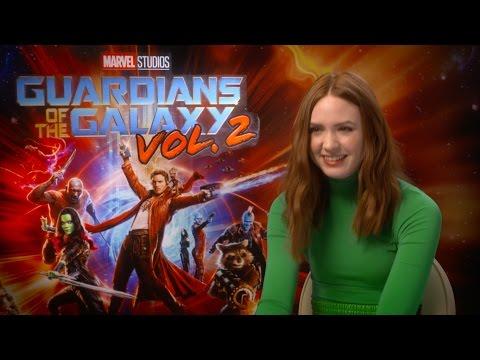 Guardian of the Galaxy 2 - Kurt Russell, Karen Gillan & Dave Bautista talk to DS