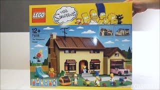 LEGO 71006 The Simpsons Das Simpsons Haus - Review deutsch -