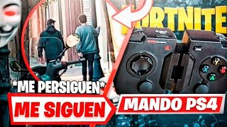😨 I FOLLOW ON THE STREET *2 HACKERS* for BUYING an IL MANDO LEGAL to MAKE CRATES in FORTNITE!