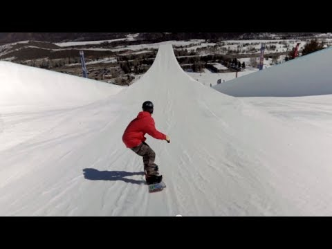Generate First-Ever Double Super Pipe Snowboard Session Pics