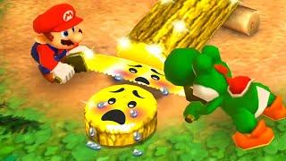 Mario Party The Top 100 MiniGames - Luigi Vs Mario Vs Yoshi Vs Peach (Master Cpu)