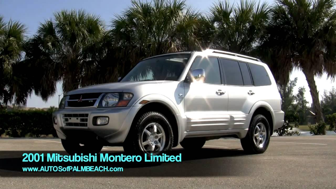 2001 Silver Mitsubishi Montero Limited T2568 - YouTube