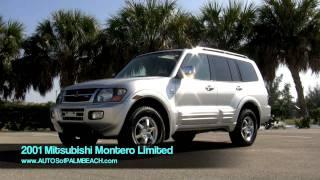 2001 Silver Mitsubishi Montero Limited T2568