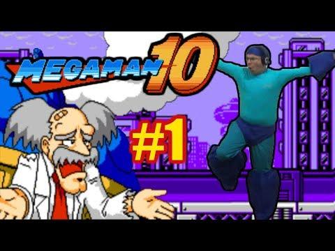 Mega Man 10 no HARD - Parte 1 - Só na Buster com essa Roboenza?
