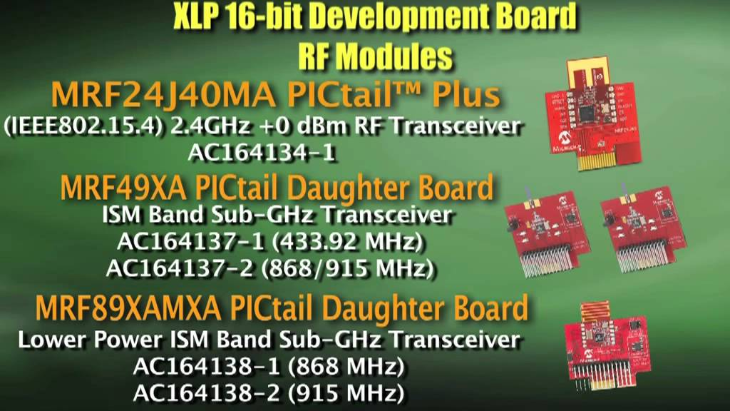 Microchip - XLP 16-Bit Energy Harvesting Development Kit
