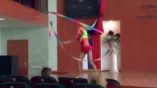 Танец с лентой - видео by videosculptor.ru (2013) II