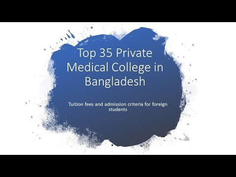 Top 35 Private Medical College In Bangladesh