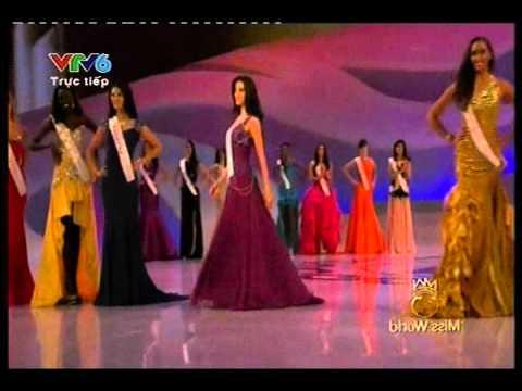 Hoa hậu thế giới 2012 - Chung kết - Top 15 - Hoa hau the gioi 2012