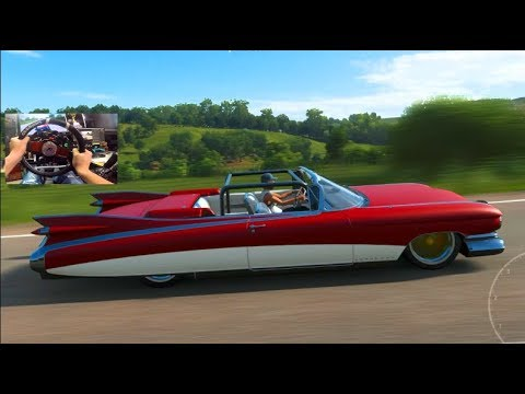 Forza Horizon 4 GoPro - 1959 Cadillac Eldorado Customization + FFB Update! thumbnail