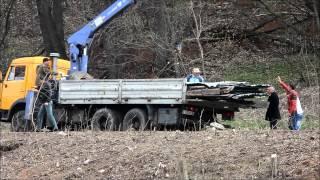 NewsNN: Вырубка деревьев в береговой зоне реки Ока в Нижнем Новгороде(Описание., 2014-04-25T11:37:23.000Z)