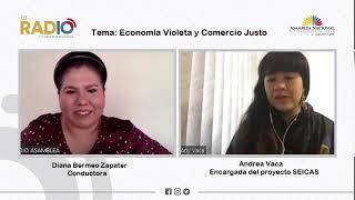 Andrea Vaca, encargada del proyecto SEICAS