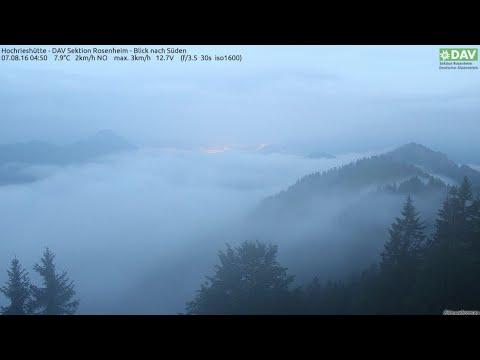 Earth Wobble? Dual Sunrise? | Webcam(s) show dual sunrise