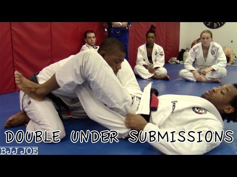 Double Under Submissions: Armbar, Shoulder Lock and Back Take with Professor Diego Bispo