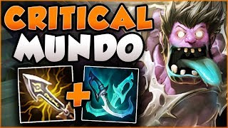 DID RIOT GO TOO FAR WITH NEW INFINITY EDGE?? CRITICAL MUNDO TOO OP! MUNDO GAMEPLAY League of Legends