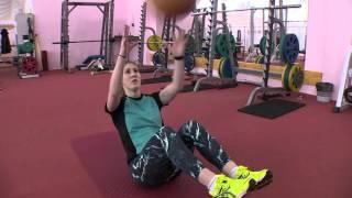 видео: Силовая тренировка лыжников