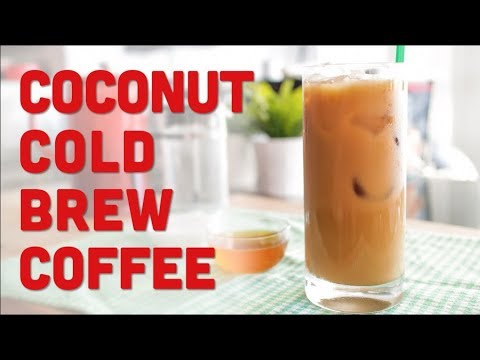 Toasted Coconut Cold Brew Coffee (Starbucks Copycat Recipe) - Pai's Kitchen