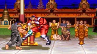 (1992)Street Fighter ll: Champion Edition - Ryu [[TAS]] UHD 4k 60fps