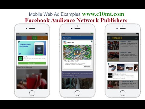 Audience Network Native Facebook Ads for Mobile Web