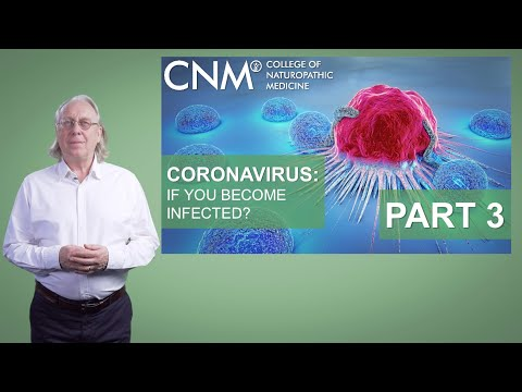 Coronavirus Lecture Series Part 3: If You Become Infected