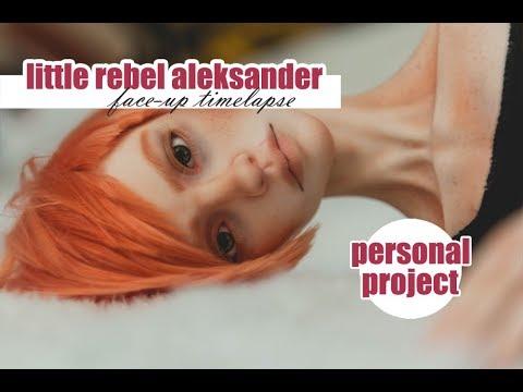 BJD Face-Up Process - Little Rebel Aleksander - Personal Project