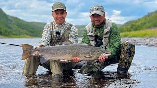 Рыбалка с Ночевкой Семь суток на Кольском Полуострове Встреча с Медведем Быт и Еда на Реке