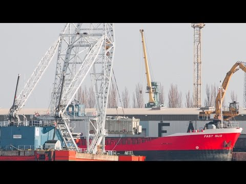 200 Tons Heavy Lift Cranes ABB Transformer Port Szczecin