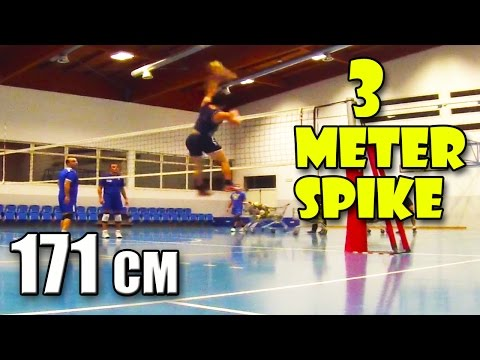 170cm 3 Meter Spike During A Game - 5'7 Ft