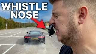 WAXED MY BROS NOSE WITH 200MPH SUPERCAR