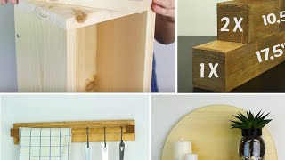 10 Furniture And Accessories made from Scrap Wood Pieces