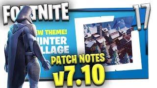 FORTNITE CREATIVE 7.10 PATCH NOTES! | Fortnite Creative Update E17