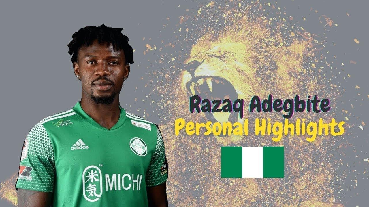 Download Razaq Adegbite 艾迪比帝 - Personal Highlights