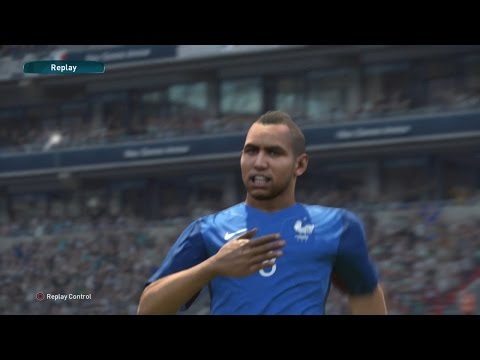 PES 2017 Demo (France vs Germany Gameplay)