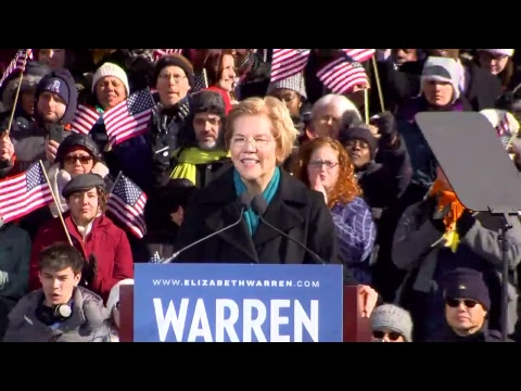WATCH: U.S. Sen. Elizabeth Warren officially announces 2020 presidential bid Mp3