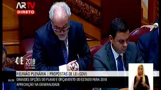 Debate na Generalidade OE 2018 | Resposta Ministro do Trabalho à Deputada Diana Ferreira