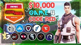 $10,000 🥊CodeRed Duo Tournament🥊 Game 4 (Fortnite)