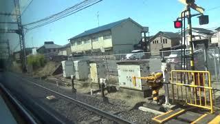 《車窓》近鉄京都・奈良線特急 京都~近鉄奈良
