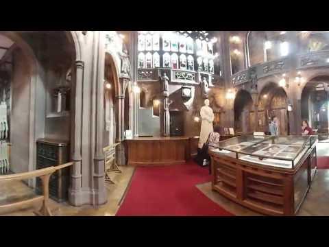 MYSZKĄ MOŻNA OBRACAĆ OBRAZ!!! 360 - The John Rylands Library Manchester /PodróżeZaStówę