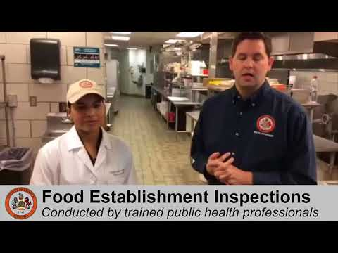 Behind the Scenes of a Food Service Establishment Inspection in Fairfax County