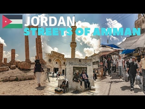What to Do in Amman Jordan | Citadel of Amman | Walking Thro