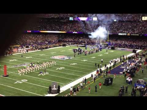 Super Bowl XLVII - Ravens Entrance