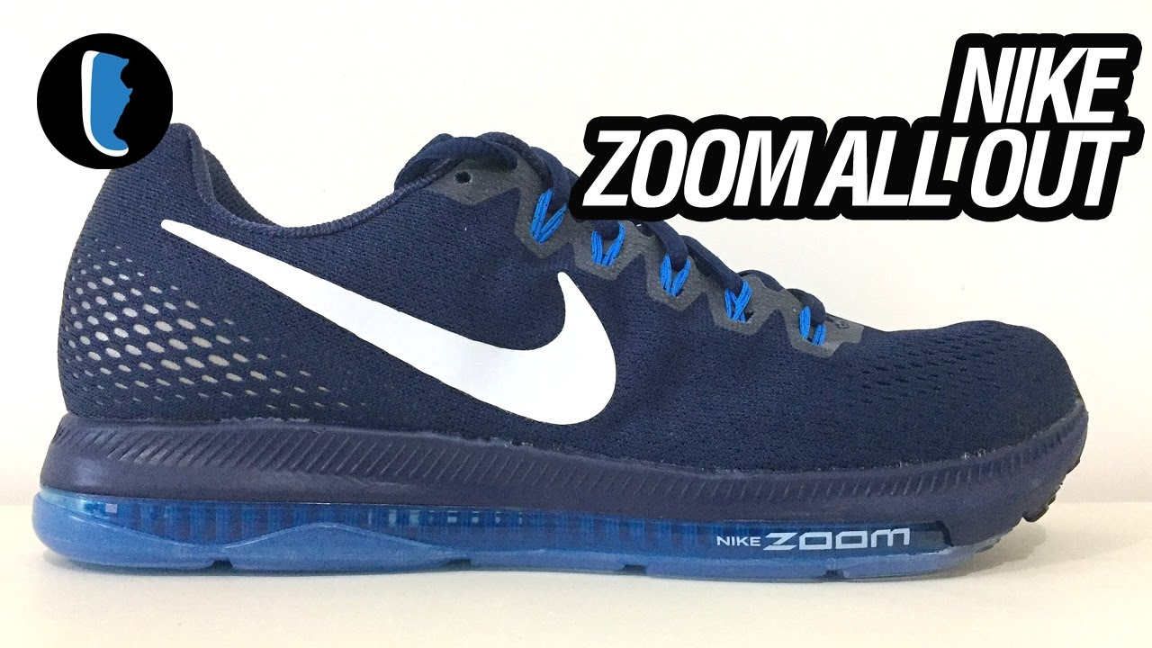 Air Zoom por Todos os Lados - Nike Zoom All Out Low ZAO - YouTube 34810e623b34